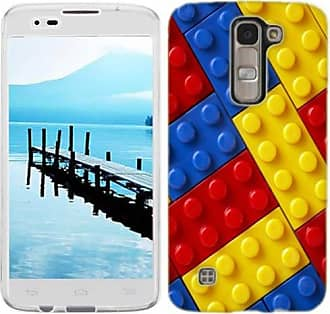 Mundaze Mundaze Colorful Blocks Phone Case Cover for LG Power Risio Destiny
