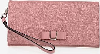 Bally Embossed Leather MAYA BOW Wallet Größe Unica
