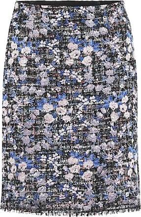 Giambattista Valli Floral tweed skirt