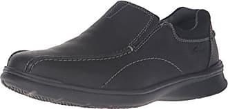 Clarks Clarks Mens Cotrell Step Slip-on Loafer,Black Oily,14 M US