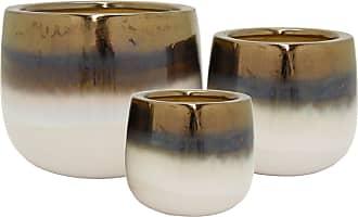 Three Hands Bowl Shaped Ceramic Planters