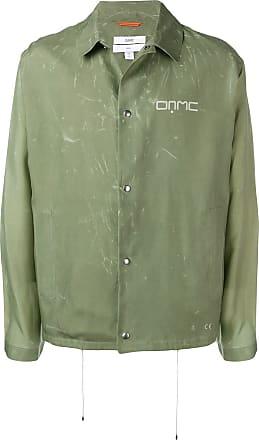 OAMC classic shirt jacket - Green
