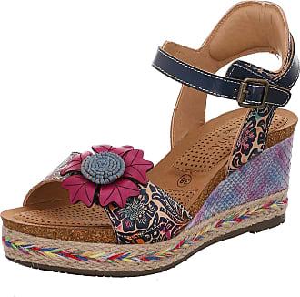 Laura Vita Facyo 06 Womens Fashion Sandals, schuhgröße_1:38, Farbe:Blue