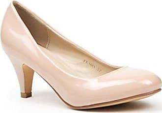 708129a73a8b80 King Of Shoes Klassische Damen Lack Pumps Glänzend Stilettos Abend Schuhe  Party Hochzeit ID (39