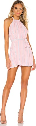 Superdown Lillian Halter Mini Dress in Pink