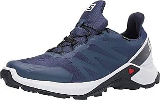 Salomon Mens Supercross GTX Trail Running Shoe, Sargasso Sea/White/India Ink, 11.5 UK