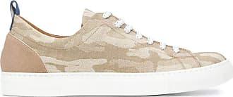 Jacob Cohen Fashion Man JACK01011360 Beige Cotton Sneakers | Spring Summer 20