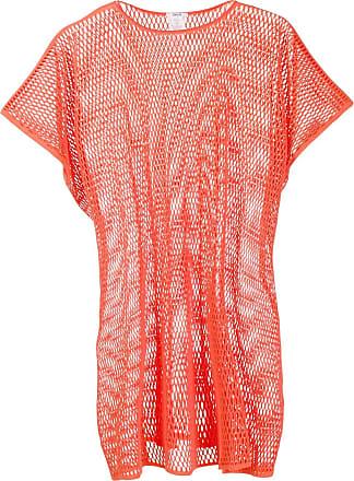 Wolford Xenia mesh tunic - ORANGE