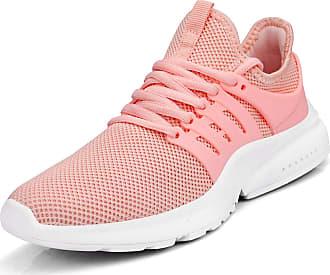 Zocavia Zocavia Womens Mens Trainers Breathable Lightweight Sports Shoes Running Shoes Hiking Shoes Outdoor Shoes 36EU-47EU Pink Size: 7 UK