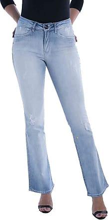 Osmoze Calça Jeans Osmoze Mid Rise Flare Low Azul 40