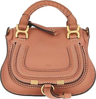 Chloé Mini Marcie Crossbody Bag Muted Brown Umhängetasche rosa