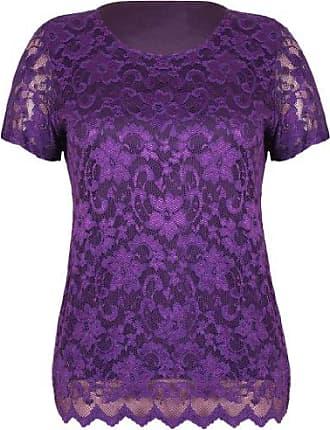 Damen  Bluse Spitzen StretchTop T-Shirt 5 Farben  147