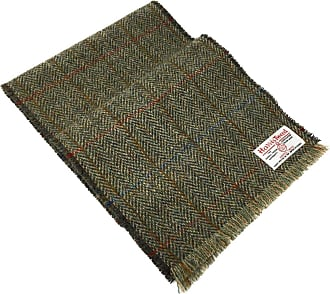 Harris Tweed Scarf Grey Herringbone Liberty Cotton Lined For Ladies and Gents