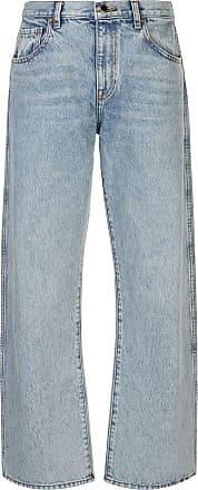 Khaite Calça jeans reta Kerrie - Azul