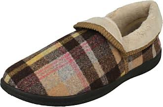 Padders Womens Mellow Low-Top Slippers, Multicolour (Beige Combi 30), 8 (42 EU)