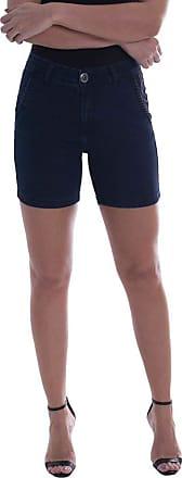 Osmoze Shorts Jeans Osmoze Middle Mid Rise Azul 40