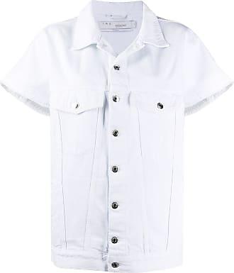 Iro Jaqueta jeans mangas curtas - Branco
