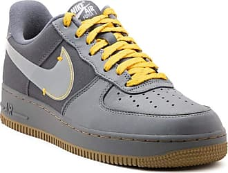 Nike Mens Shoes Sneakers AIR Force 1 PRM in Gray Suede CQ6367-001