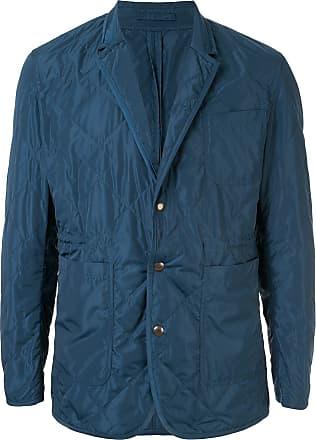 Kent & Curwen quilted blazer jacket - Blue