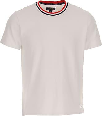 Ralph Lauren T-Shirt Uomo On Sale, Bianco, Cotone, 2019, L M S XL XXL