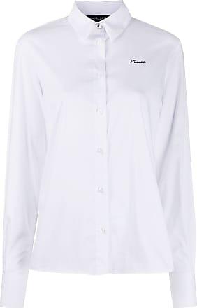 Frankie Morello Camisa com logo bordado - Branco