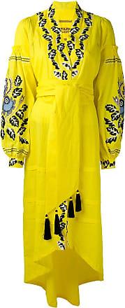 Yuliya Magdych Eden Tree dress - Yellow