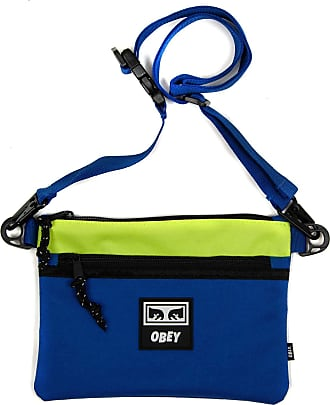 Obey Conditions Side Bag III in Blue Multi