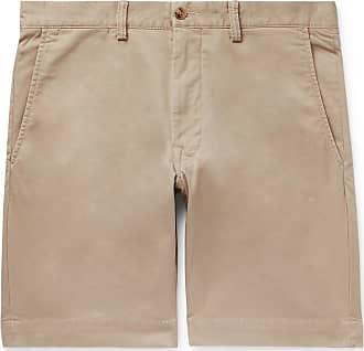 d4eb35d4836b Polo Ralph Lauren Slim-fit Cotton-blend Twill Chino Shorts - Beige