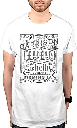 AWDIP Official Peaky Blinders The Garrison Pub T-Shirt White