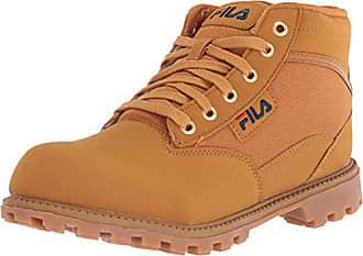 309d782c872 Fila Mens Grunge 17 Fashion Boot, Wheat Navy red, 8.5 Medium US