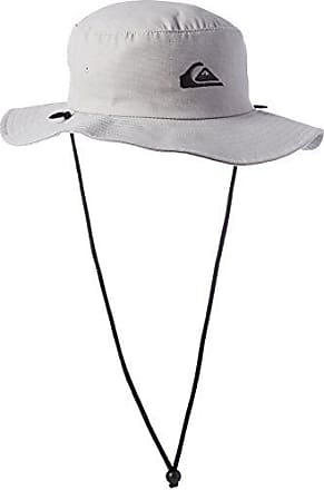 Quiksilver Mens Bushmaster Floppy Sun Beach Hat, Steeple Grey, Large/X-Large