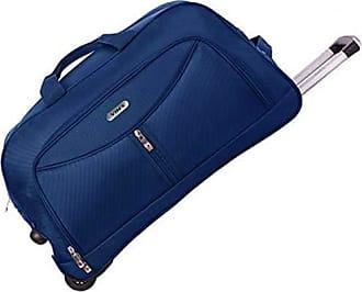 Yin's Bolsa Sacola de Viagem Média c/Carrinho Azul YS1027A