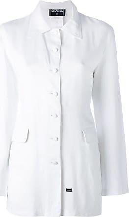 Chanel shirt jacket - White