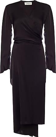 Lanvin Asymmetrical Dress Womens Black