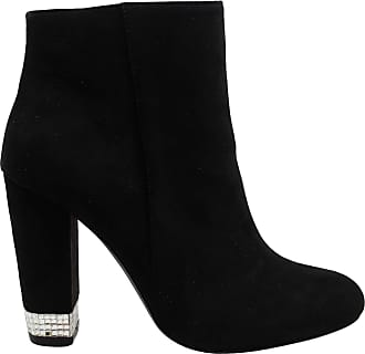 xoxo Womens Yardria Suede Closed Toe Ankle Fashion Boots Black Size: 5