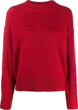 Isabel Marant Suéter decote careca - Vermelho