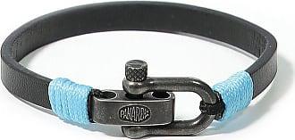 Panareha CLOUDBREAK leather bracelet black