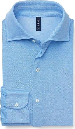 04651/ Piqué-Hemd schmaler Kragen hellblau bei BRAUN Hamburg