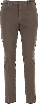 PT01 Pants for Men On Sale in Outlet, Brown, Cotton, 2017, 34