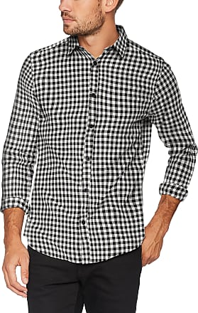 Only & Sons Mens Onsgordey Ls Checked Shirt Casual, Multicoloured (Cloud Dancer), Medium
