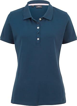 0152c74f7b00 Bonprix Piqué-Poloshirt kurzer Arm in blau von bonprix