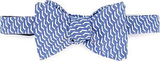 Gieves & Hawkes Papillon con motivo stampato - Di colore blu
