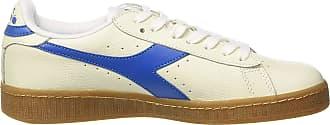 Diadora Game L Low, Mens Low Trainers Gymnastics Shoes, Bianco (Bianco/Blu Imperiale), 7.5 UK (41 EU)