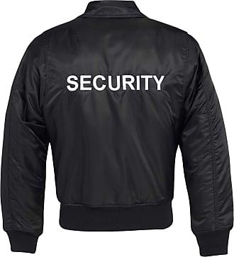 Brandit Men Blouson Jacket Security CWU, Size:4XL, Color:Black