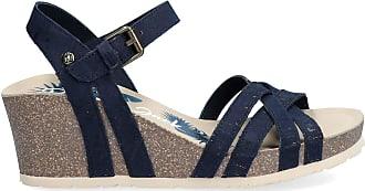 Panama Jack Womens Sandals Vera Cork Basics B2 Tejido Marino/Navy 41 EU