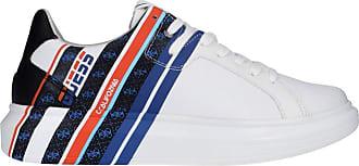 Guess FM6SALLEA12 Sneaker Multi whiteLeather Size: 10 UK