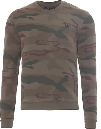 Fred Perry BLUSA MASCULINA CAMOUFLAGE - VERDE