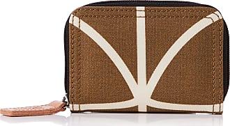 Orla Kiely Womens Medium Zip Wallet Camel