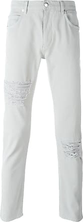 Helmut Lang ripped knee jeans - Grey