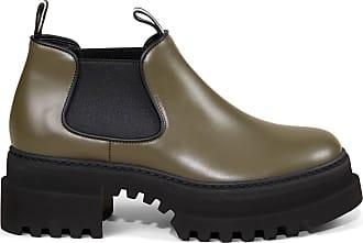 Bally Boots Giordy mit breiter Gummisohle Khaki